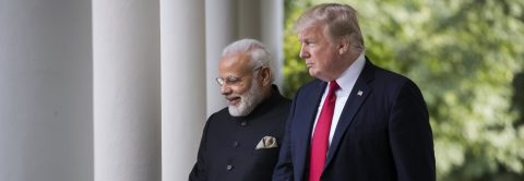 Trump and Modi pledge cooperation, avoid tensions on immigration