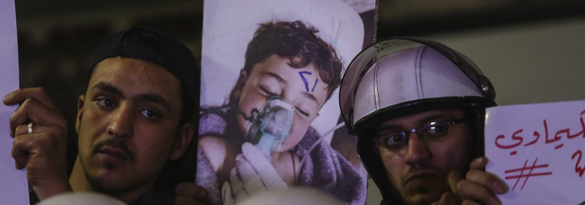 Syria preparing for chemical weapons attack, US says