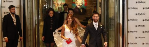Messi, Roccuzzo get married in native Rosario before 260 guests
