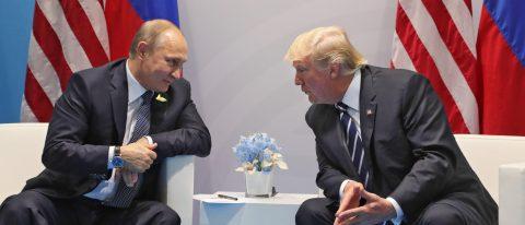 """Trump dice que estudió con Putin formar una """"impenetrable"""" unidad cibernética"""
