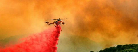 Officials in western US report limited progress fighting fires