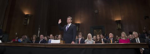 Trump's choice for FBI director tells Senate he will ensure independence