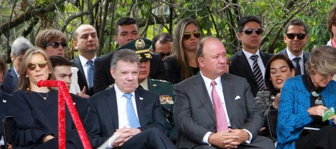 Colombia marks independence day
