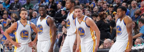 WARRIORS RE-SIGN CURRY, DURANT, IGUODALA, LIVINGSTON, PACHULIA & WEST TO CONTRACTS Key Members Of 2017 NBA Championship Team Returning To Golden State