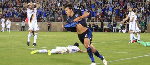 SJ Earthquakes estrenó nuevo coach y se anotó el triunfo del Cali-Clásico de 2-1 contra LA Galaxy