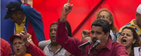 Maduro asks for international support in wake of Trump's threat
