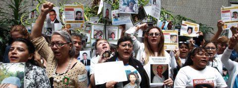 Exigen a México aprobar ley sobre desapariciones y aceptar competencia de ONU