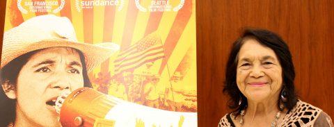 Labor icon Dolores Huerta aims to end Republican control of Congress