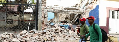Reparar las escuelas dañadas por el seísmo en México costará 110 millones de dólares