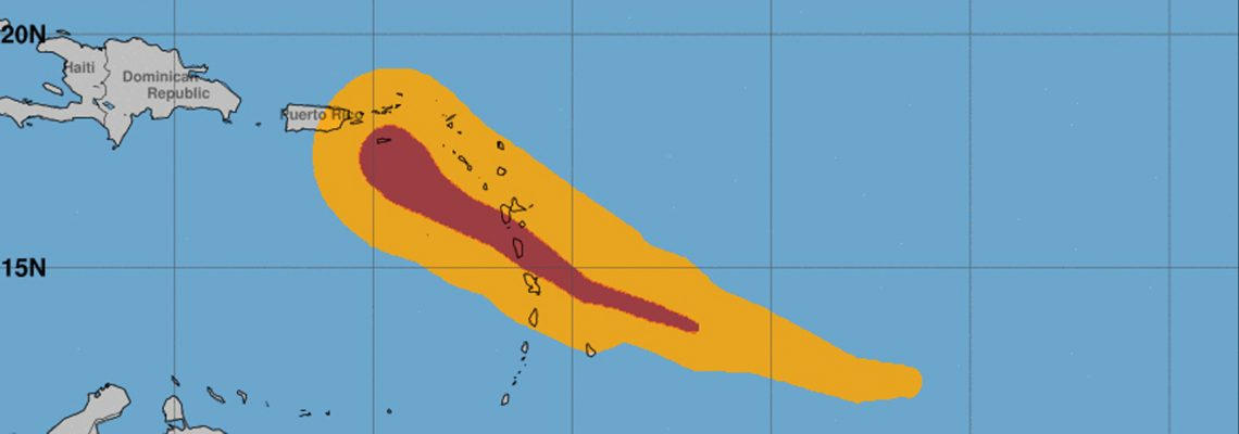 Powerful Hurricane Maria makes landfall in Puerto Rico