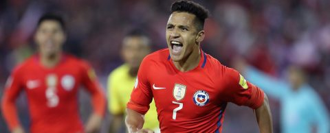 Chile revive hopes, Argentina held by Peru, Colombia slip to home defeat