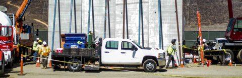 Construction of US border wall prototypes progressing