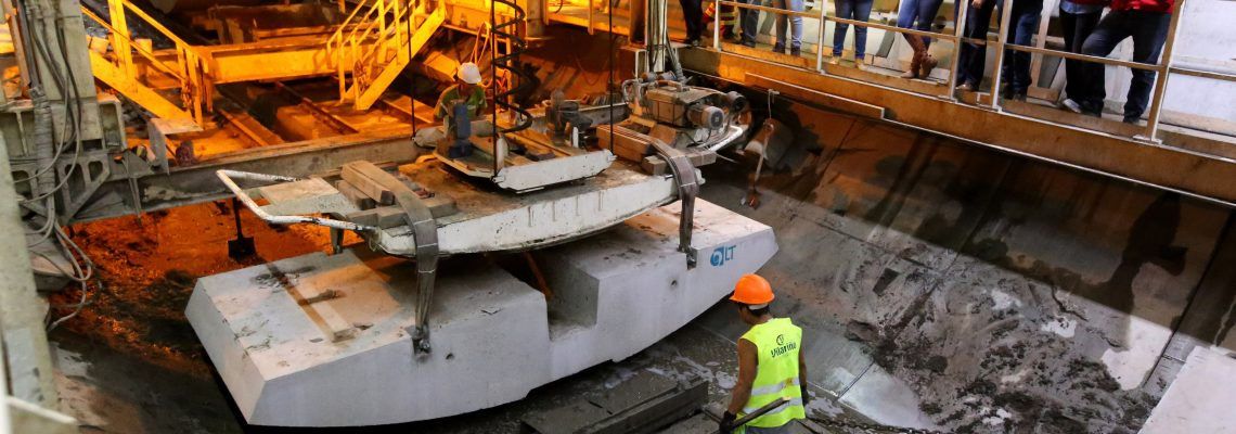 Light-rail tunnel project to transform Mexican city's urban transport