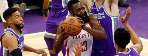 107-91. Harden y los Rockets mantienen su invicto