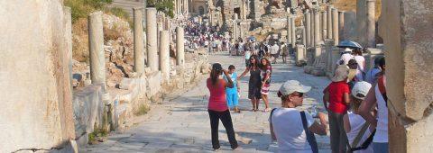 The secret of the lone pillar of Ephesus