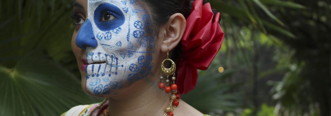 Yucatan Hanal Pixan in the Festival of Life and Death Traditions of Xcaret