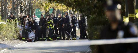 Terrorist kills eight people in a multiple hit-and-run in New York City