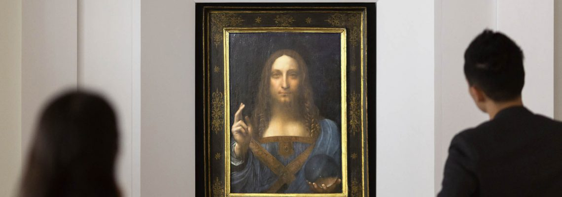 Da Vinci painting auctioned in New York for record $450.3 million