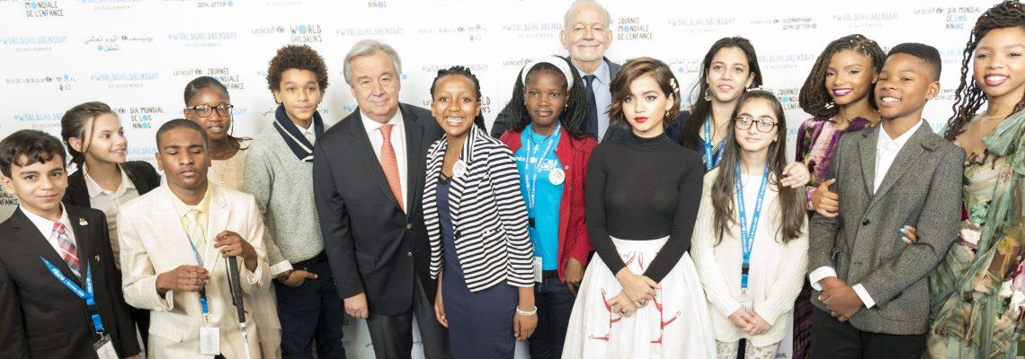 """Los niños """"toman"""" la ONU y piden que se les escuche de una vez por todas"""