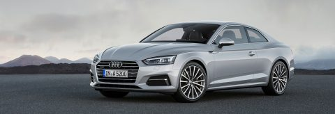The new 2018 Audi A5 Coupe 2.0T Quattro
