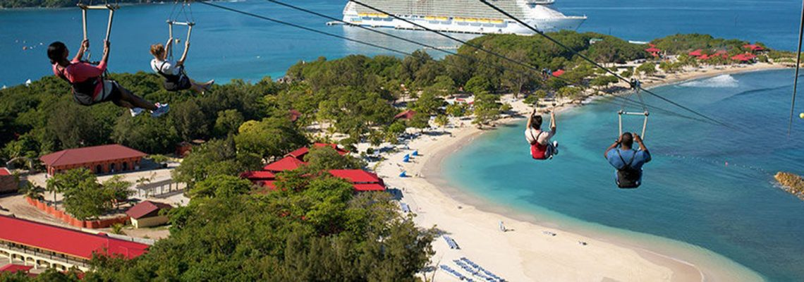 Cruise passengers get perks on private islands