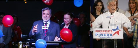 Conservative Pinera, socialist Guillier headed for runoff in Chile election