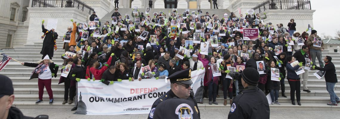 Thousands converge on US Capitol to demand a solution for Dreamers