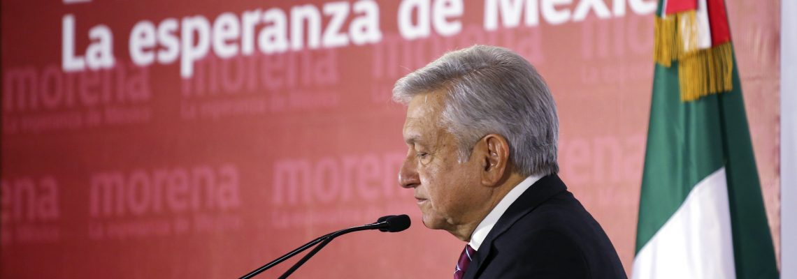 Mexico's Lopez Obrador launches 3rd presidential bid