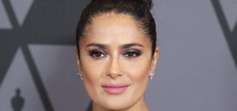 Salma Hayek says Weinstein sexually harassed, threatened her