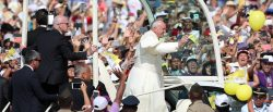Pope Francis ends Latin America visit with giant mass in Lima