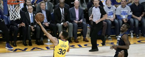 Warriors gear up for Celtics by brushing aside T'Wolves