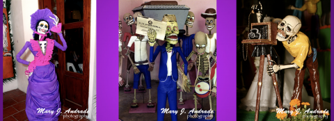 """Libros Digitales """"C"""" son creados sobre la tradición del Día de los Muertos por Mary J. Andrade"""