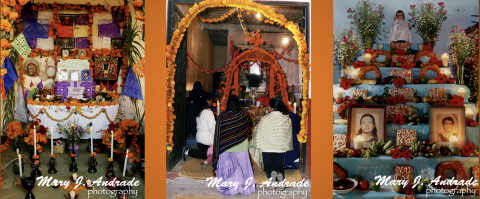 c-Books on Day of the Dead tradition are launched by Award-Winning Author Mary J. Andrade