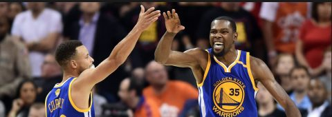 WARRIORS STEPHEN CURRY AND KEVIN DURANT NAMED ALL-STAR STARTERS