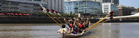 River Plate rowboats provide break from hustle and bustle of Buenos Aires