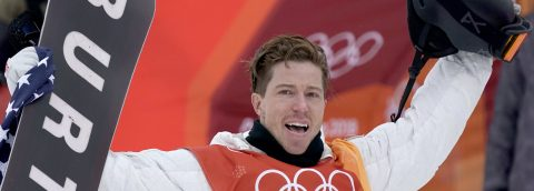 Shaun White bags career third Olympic gold in halfpipe