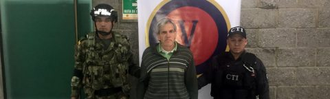 Suspect in attack on Colombian police arrested
