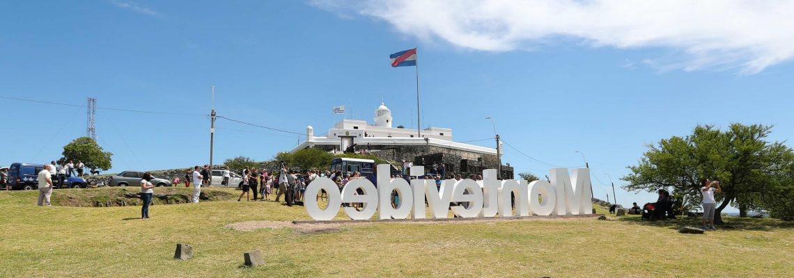 Montevideo sign crowns Uruguayan capital's highest hill