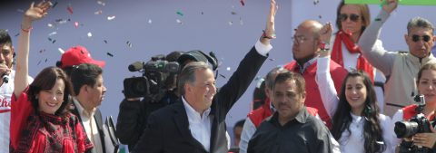 Mexican political parties officially nominate presidential candidates