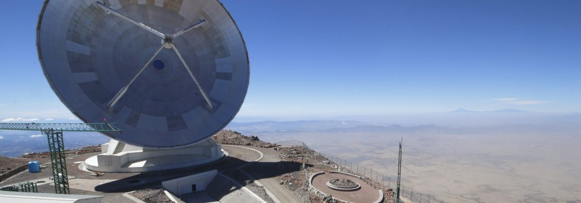Studying the Big Bang and black holes at Mexico's Large Millimeter Telescope