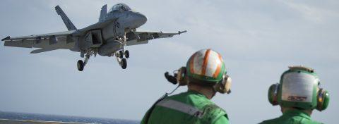 Two crew members killed in US Navy jet crash in Florida