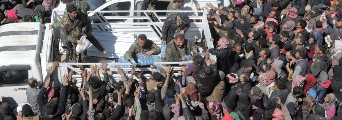 Syria says more than 40,000 civilians left eastern Ghouta