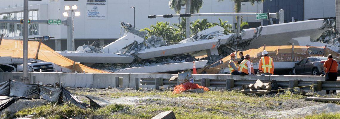 Engineer of collapsed Miami bridge reported cracks days before accident
