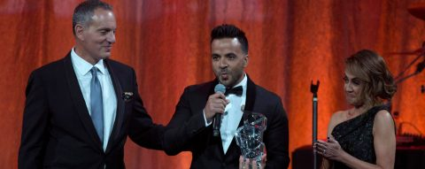 "Fonsi wins career honor, best song prize for ""Despacito"" at BMI Latin Awards"
