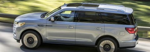 The new 2018 Lincoln Navigator 4×4