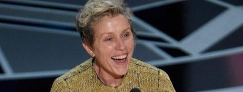 """Frances McDormand obtiene el Óscar a la mejor actriz por """"Three Billboards"""""""