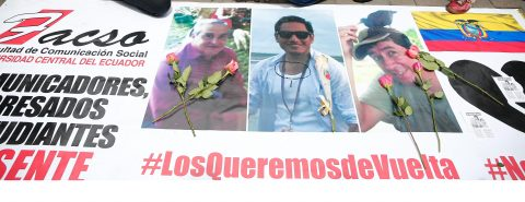 Ecuador's president says abducted journalists are dead