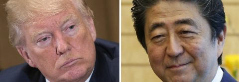 North Korea, protectionism to feature at Abe-Trump summit