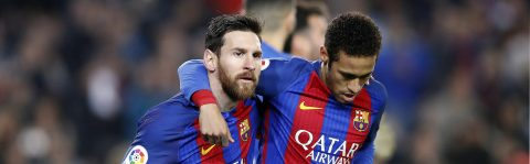 Messi, Neymar leading campaign for school lunches in Latin America