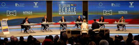 Ties with US, Nicaragua dominate first Colombia presidential debate